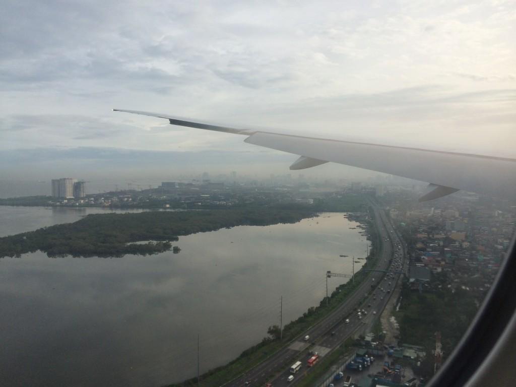 Blick auf Manila
