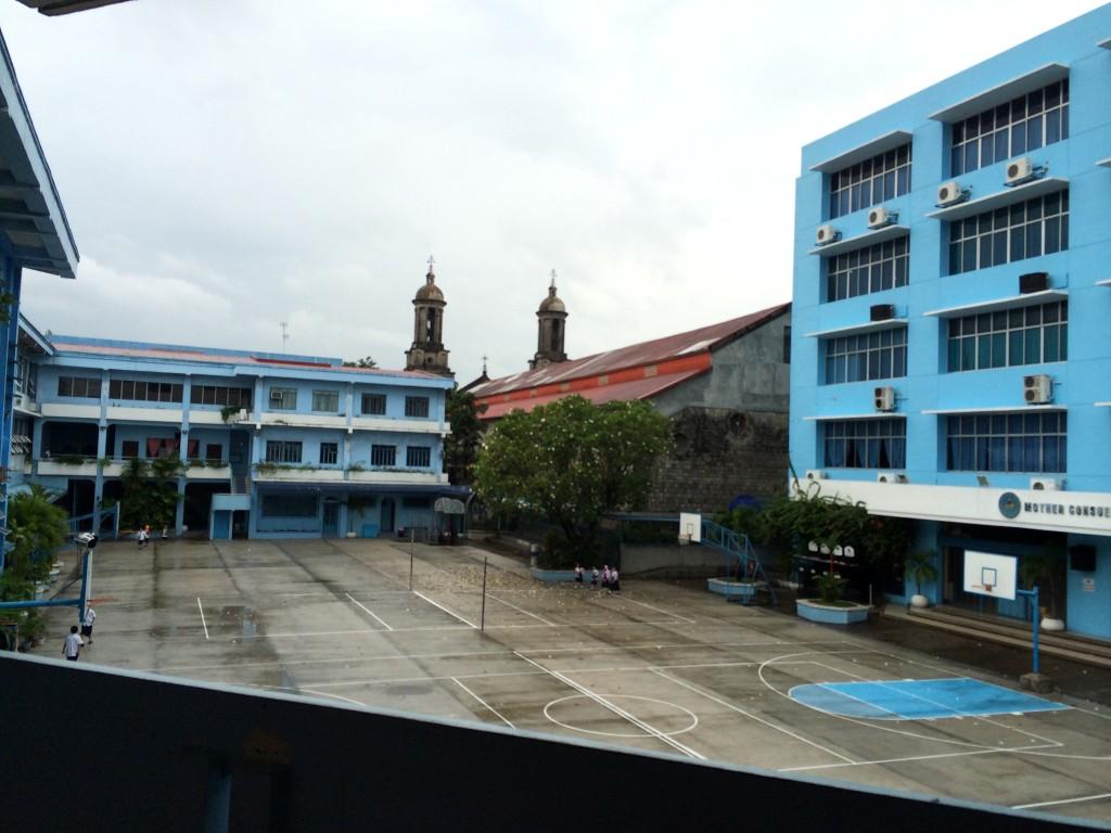 Innenhof meiner High School