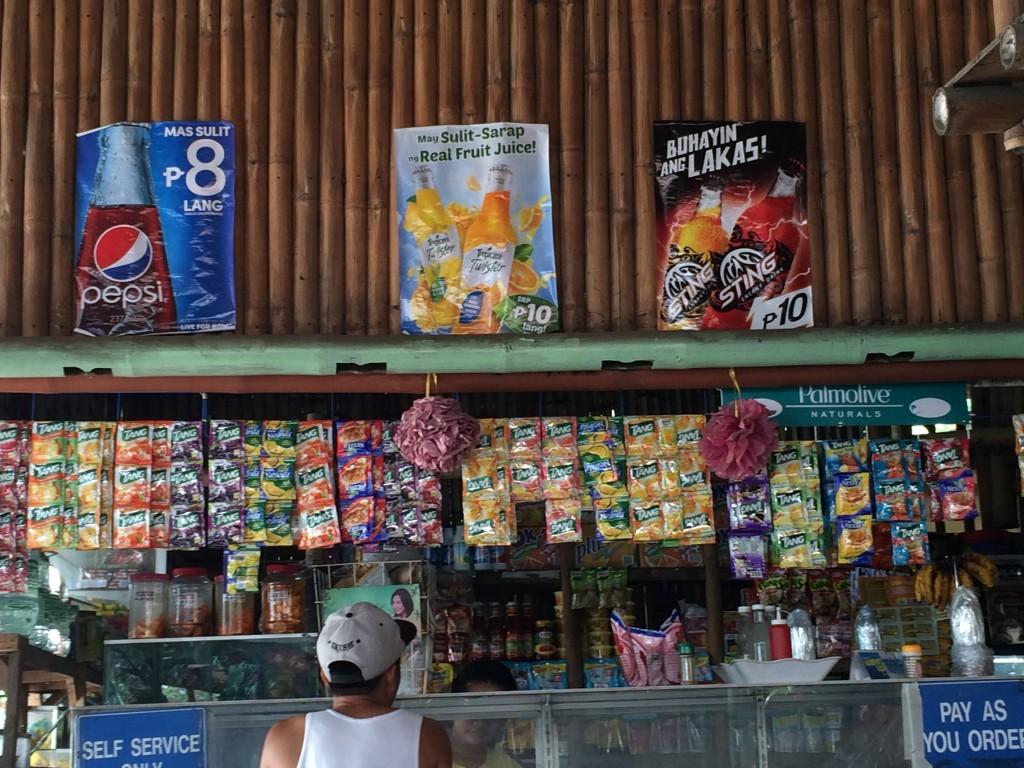 Die Portionen - der Warenverkauf in den Kiosks